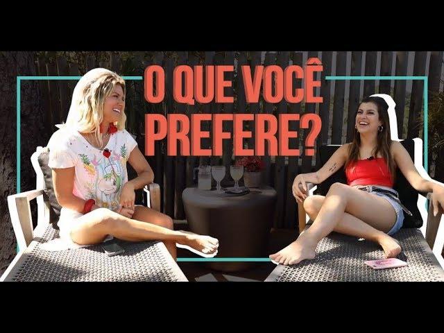 TAG: O QUE VOCÊ PREFERE? COM NAH CARDOSO | GIOH - Giovanna Ewbank