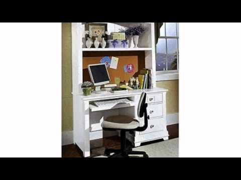 Video Video ad of the Cottage Computer Desk With Hutch Finish