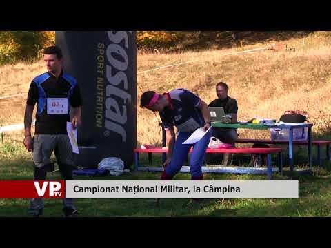Campionat Național Militar, la Câmpina