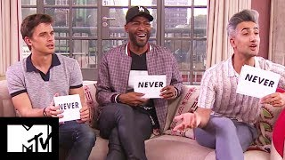 Queer Eye Cast Play NEVER HAVE I EVER: FAB FIVE Edition | MTV Movies