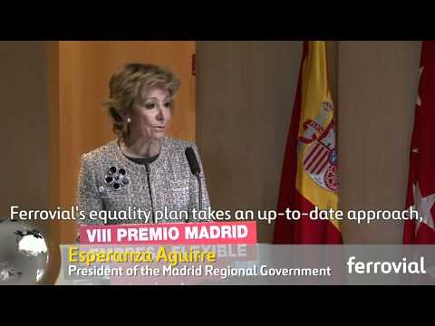 "Ferrovial receives ""Empresa más Igual"" equality award from Madrid Regional Government"