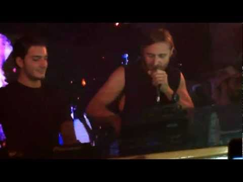 DAVID GUETTA at PACHA IBIZA - EVERY CHANCE WE GET WE RUN - with ALESSO