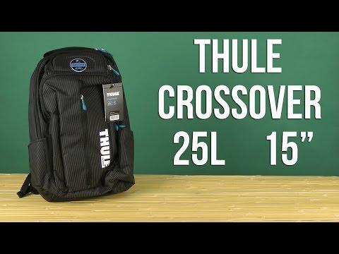 Распаковка Thule Crossover 25L Backpack для MacBook Pro 15'' Black TCBP317K