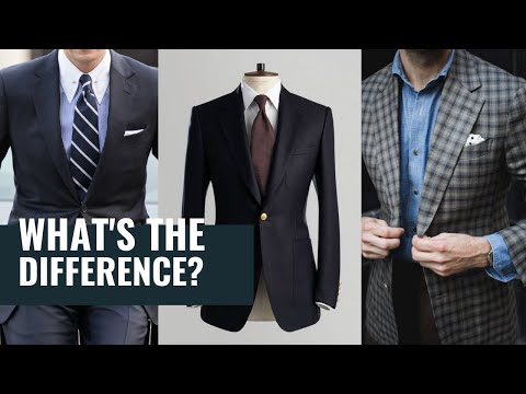 Suit Jacket vs. Sport Coat vs. Blazer | What's The Difference?