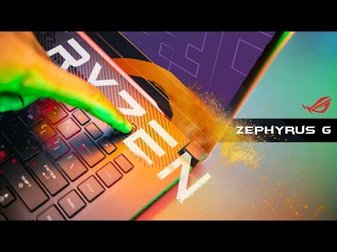 A Ryzen Gaming Notebook Worth Buying?  Rog Zephyrus Ga502 Review