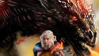 Digital art, game of thrones. Daenerys Targaryen and Drogo https://www.instagram.com/sofitestor/