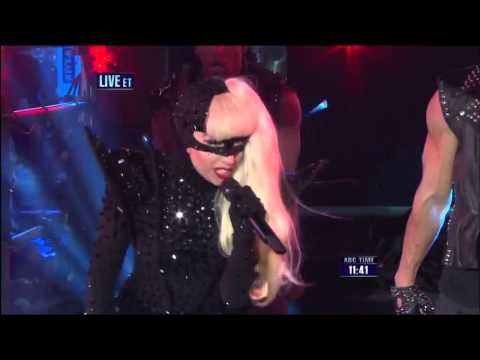 Lady Gaga heavy metal lover MTN & BTW times square NEW YORK LIVE 2011-2012