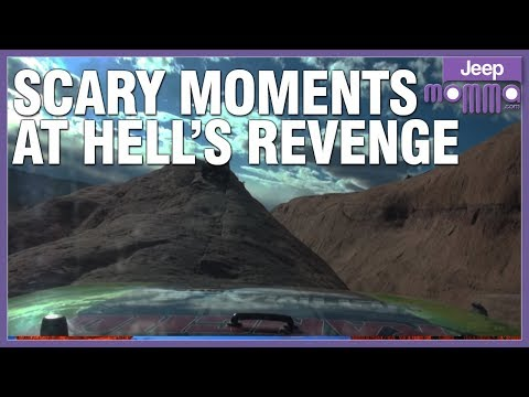Video Scary Jeep Moments Off Road on Hell's Revenge in Moab download in MP3, 3GP, MP4, WEBM, AVI, FLV January 2017