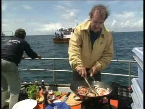 Keith Floyd Burns the Boat While Cooking