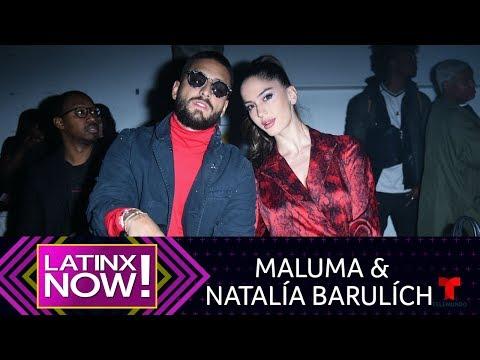 Historias de amor - La historia de amor de Maluma y Natalía Barulích  Latinx Now!  Entretenimiento