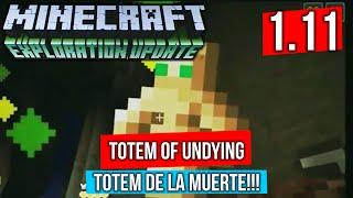 El Totem Undying es el nuevo Item de Minecraft 1.11 que te permitirá tener