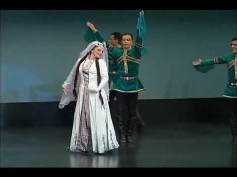 haykakan parer - Shalakho dance performed by Vanoush Khanamerian Dance School, honoring Vanoush Khanamerian's 75th birthday in 2003.