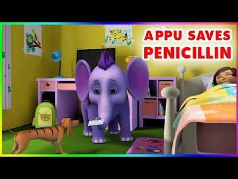 Short Stories for Kids - Appu saves Penicillin