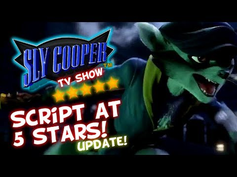 Sly Cooper TV Show UPDATE - Script Currently At 5 Stars!