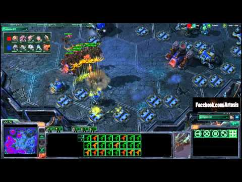 IMMVP - The #1 player in the world, IMMVP, takes on one of the greatest Zergs, and the #1 American player, IdrA! As seen on IdrA's stream, an amazing macro game, a M...