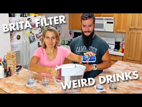 Drinking Brita Filtered Beer Vodka Wine Shame