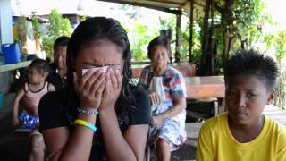 Children of typhoon Pablo victim recall ordeal