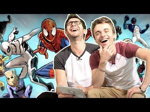 man - On joue au nouveau free to play Spider-Man ! Et Spider-man s'en prend plein la gueule... Téléchargez le jeu ici : http://gmlft.co/lsXfX.