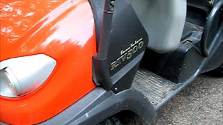 10. Kubota RTV 500 series 2010 oil fluids and filters replace