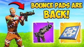 TAC SMG & BOUNCE PADS ARE BACK! - Fortnite Funny Fails and WTF Moments! #417