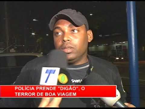 [RONDA GERAL] Polícia prende jovem assaltante que atuava em Boa Viagem