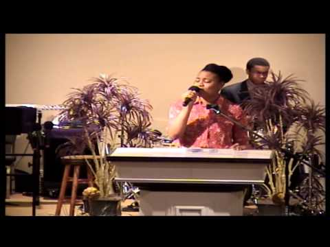 Norfolk Apostolic Church Chanel Oliver Singing 03-24-13 p.m