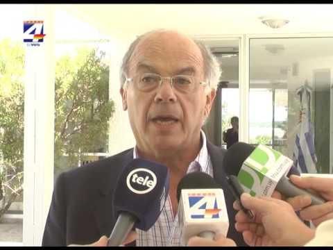CARU recibió a los ministros de ambiente de Uruguay y Argentina