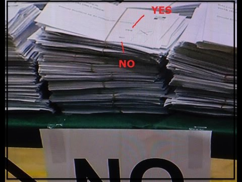 Scottish Independence Referendum Fraud