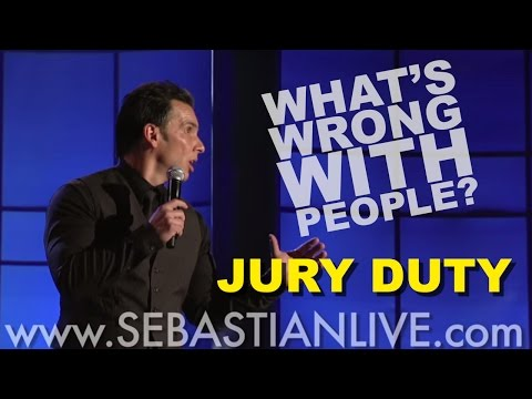 Jury Duty - Sebastian Maniscalco's 