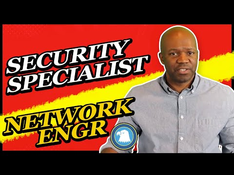 security specialist jobs (IT Security and Network Engineer)