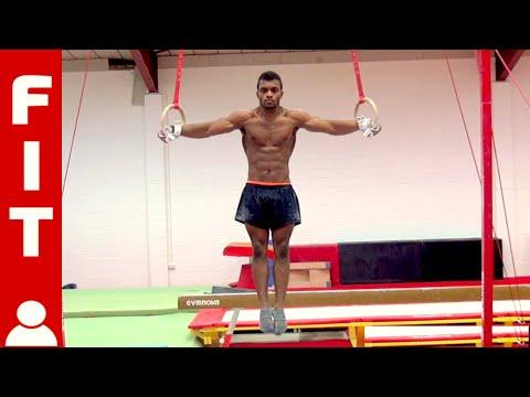 Courtney Tulloch Training Rings Gymnastics Coaching Com