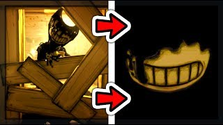 WHAT HAPPENS IF YOU DON'T RUN FROM THE FLOODING INK? | Bendy and the Ink Machine Chapter 1