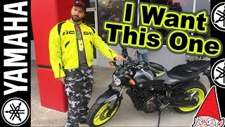 10. Lets Get a New Motorcycle - Yamaha FZ-07 or MT-07
