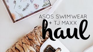 Hauling some of my recent purchases: affordable Asos swimwear + fashion and home decor items from TJ MAXX! Asos swimwear blog post I mentioned with ...