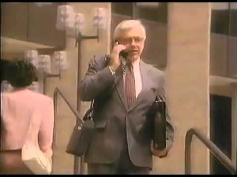 1989 Radio Shack Cellular Phone Commercial