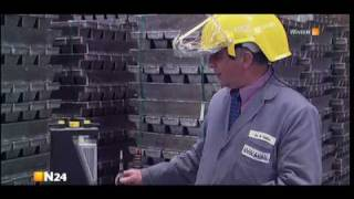 Raffination und Verarbeitung von Blei (Deutsch)