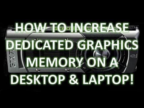 how to adjust vga memory