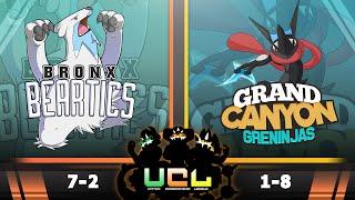 Bronx Beartics vs GC Greninjas [UCL S2W10] Pokemon Omega Ruby & Alpha Sapphire Live Wi-Fi Battle by PokeaimMD