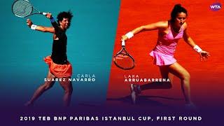 Video Carla Suárez Navarro vs. Lara Arruabarrena | 2019 TEB BNP Paribas Istanbul Cup First Round MP3, 3GP, MP4, WEBM, AVI, FLV April 2019