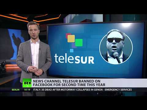 New terms of censorship: Facebook bans news outlets critical of US establishment