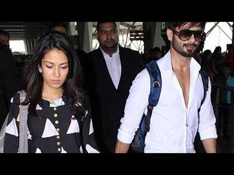 Shahid Kapoor And Mira Rajput Kapoor Finally Leave