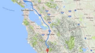 San Rafael (CA) United States  city photo : San Rafael To Soquel, California, USA (Time Lapse)