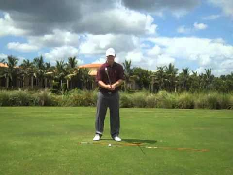 Golf Lesson Slice Cure-Release Tension in Arms