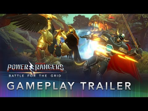 Official Gameplay Trailer de Power Rangers : Battle for the Grid