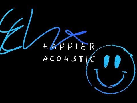 Ed Sheeran - Happier (Acoustic) (видео)