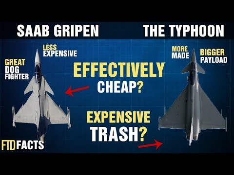 The Differences Between The SAAB GRIPEN and The EUROFIGHTER TYPHOON
