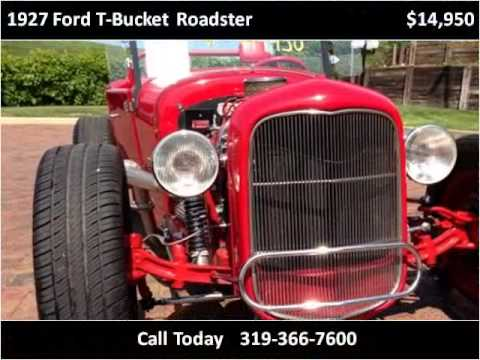 1927 Ford T-Bucket Roadster Used Cars Cedar Rapids IA