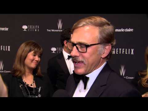 2014 Golden Globes Party: Christoph Waltz Interview