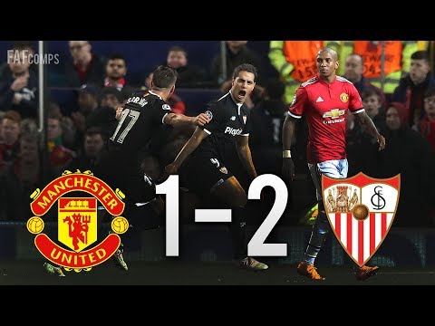 Manchester United vs Sevilla 1-2 All Goals & Highlights (14/03/2018) HD