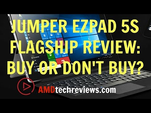 Jumper EZPad 5s Flagship Review:  Buy or Don't Buy?